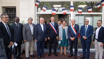 Inauguration de la mairie annexe - espace France services