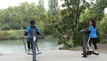 Inauguration du parcours sport et santé