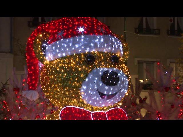 Promenade au cœur des illuminations de Noël 2020